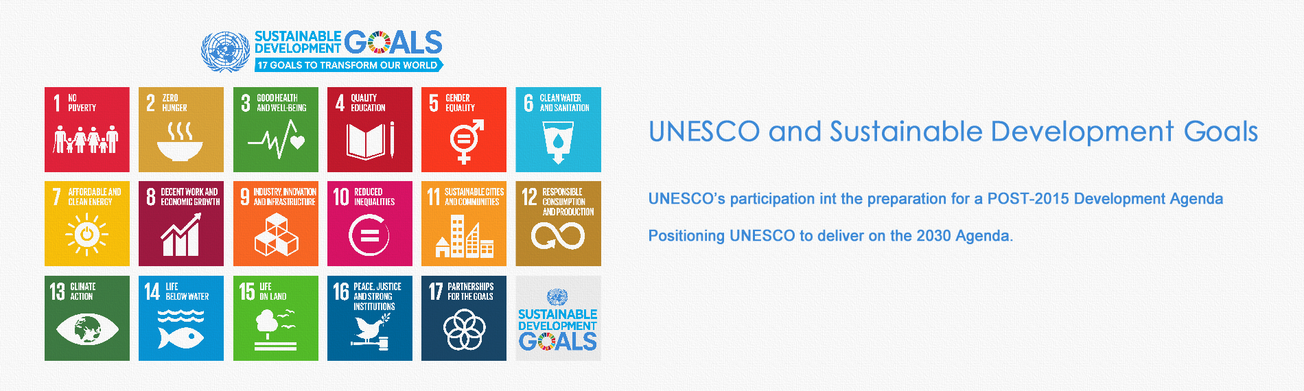 UNESCO and Sustainable Development Goals http://www.cipsh.net/web/news-119.htm